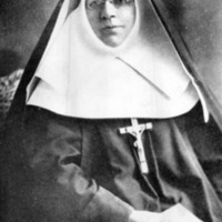Mother Katharine Drexel in her nun's habit.