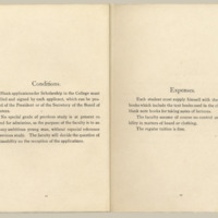 two printed beige pages, side by side, from the Temple College Course Catalog