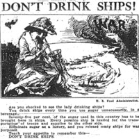 A recreation of the &amp;quot;Suagr Means Ships&amp;quot; poster image.&lt;br /&gt;<br />