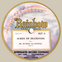 album cover for the Rainbow recording of Acres of Diamonds